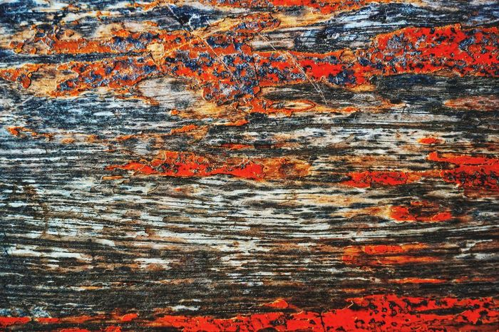 Wood Vintage Backgrounds Abstract Full Frame Textured  Pattern Red Ink Painted Image