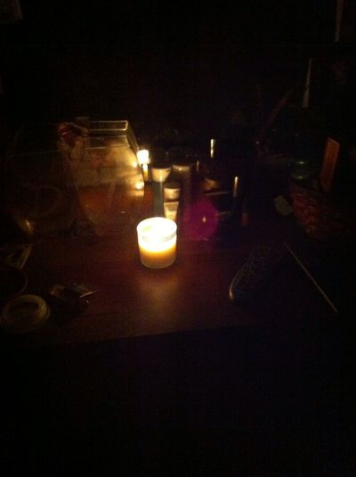 Couldnt Make It To The Candle Lighting So I Lit My Own. #RipStephen #prayformegan