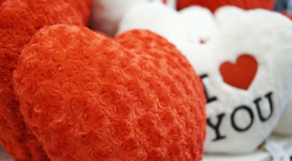 Red heart pillow. No People Close-up Food Food And Drink Indoors  Day Red Sweet Food Freshness