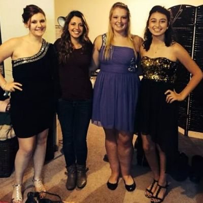My beautiful daughter with some of her friends all ready to go to her Sophomore year homecoming. (Right,Gold and black dress) I am so thankful that I have friends out there that know the situation, that will send me photos of special moments in her life. I can never thank them enough for doing that for me . I appreciate it so much. :)