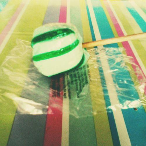 Candys Childhood Bonbons Berlingots Green