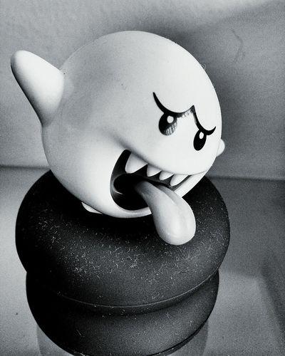 Mariobros Gohst Black & White Blackandwhite Game Toy Funny Phtography Photo Retro