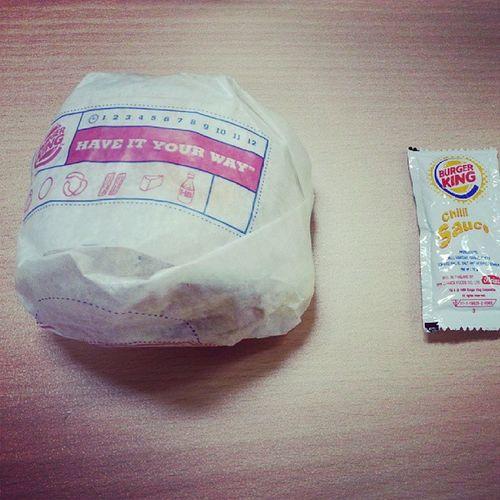 BK egg benny for breakfast Tgif YumYum Firsttimetrying
