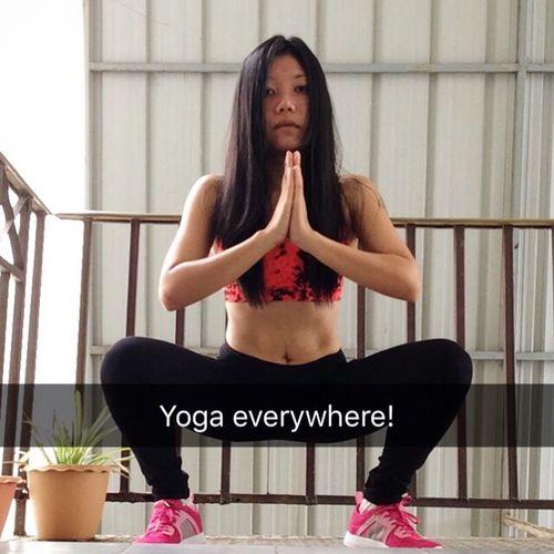 Workout Workoutmore Yoga Yoga Pose Exercise Yogaeverywhere MorningWorkout