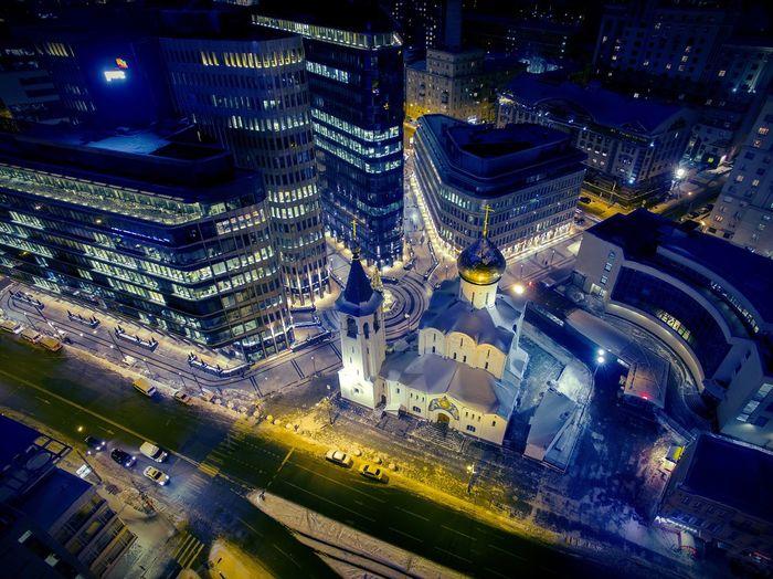 A Bird's Eye View DGI Moscow