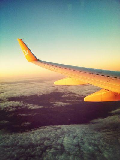Clouds And Sky Airplane Air Pegasus