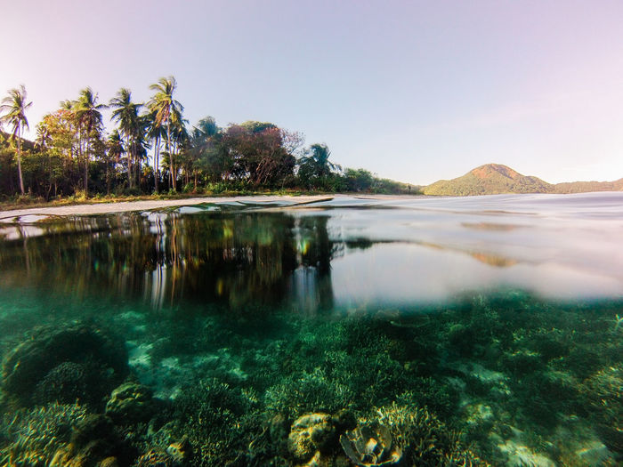 Remote islands in palawan philippines