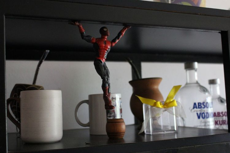 Conceitual Homem Aranha Spiderman Estante Canon EyeEmNewHere Iamnewhere Business Finance And Industry Indoors