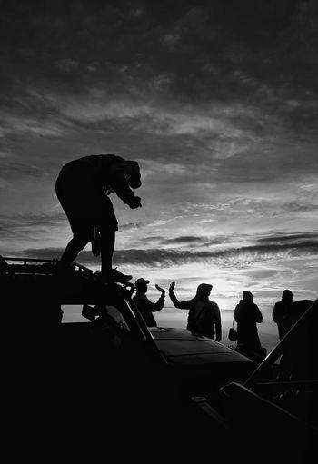 friendship #Indonesia EyeEm Best Shots EyeEmNewHere Eyeemphotography Eye4photography  EyeEm Selects EyeEm Gallery EyeEmBestPics #indonesia_photography EyeEm Sunset Men Silhouette Sky Cloud - Sky The Photojournalist - 2018 EyeEm Awards The Traveler - 2018 EyeEm Awards The Street Photographer - 2018 EyeEm Awards