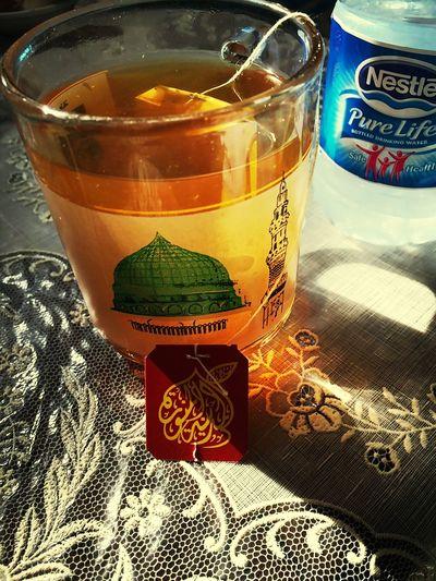 شاي منعنع مع الليمون بنزهير Almadinah تصويري  شاي