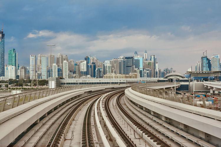 Dubai metro is the world's longest fully automated metro network, travel