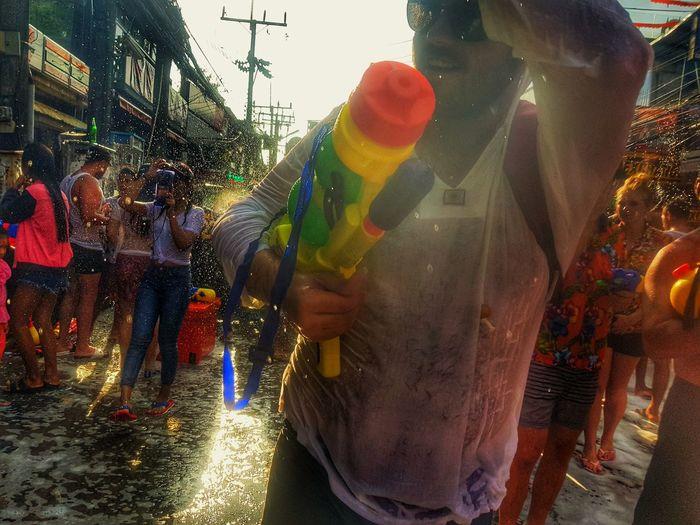 Songkran Thailand. Sonkran Festival Thailand Adventure Water Summer Adventures In The City Multi Colored Traditional Festival