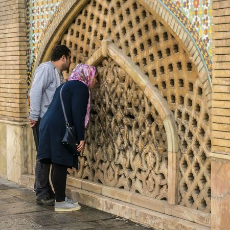 Architecture Women Adult Man Man And Woman Travel Building Exterior Outdoors Golestan Palace