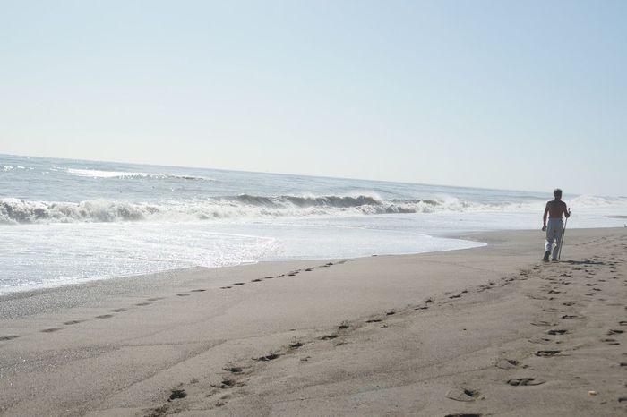 Beachphotography FootPrint Footprints In The Sand Beach Long Walks Walking On The Beach Walk Beach Walk Beachwalk Eyeem Collection
