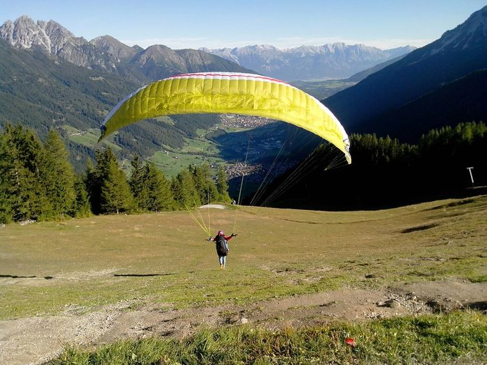 EyeEm Best Shots - Landscape Stubaital Neustift Im Stubaital Paragliding