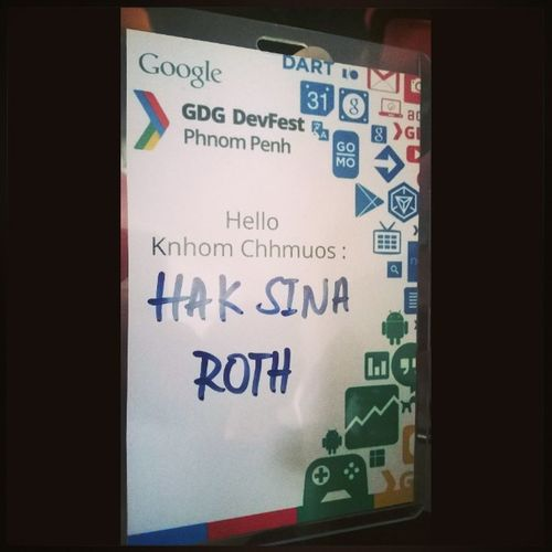 Is joining google event. Devfest Gdg Google Phnompenh cambodia