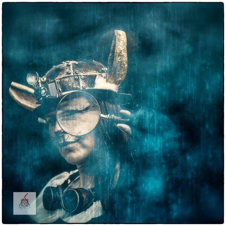Timetraveler Fantasyart Fantasy Photography Steampunk Photography Fantasy World Fantasy Edits Fantasy Portrait Of A Woman Cosplay