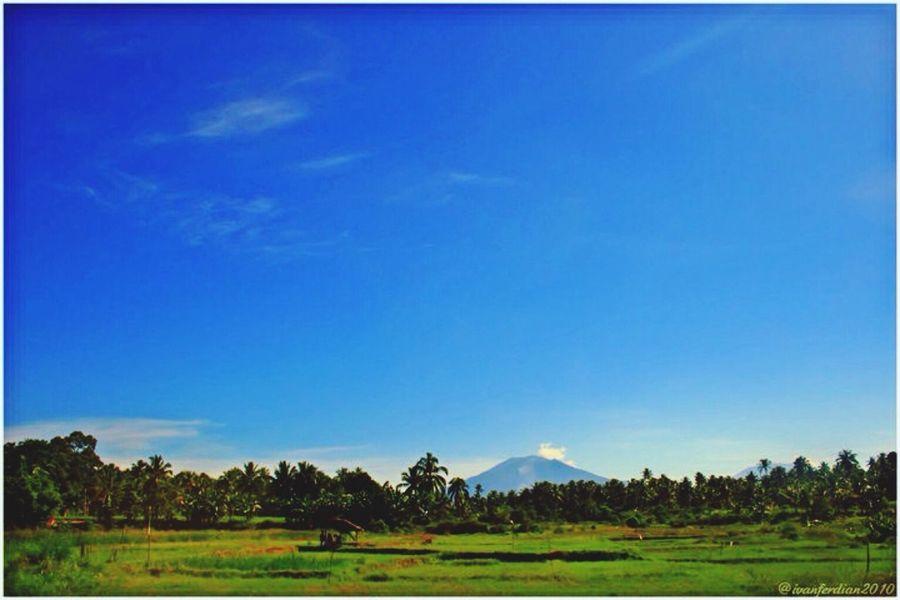 Singgalang Mount view from Kapalo Koto.. INDONESIA First Eyeem Photo Pariaman Westsumatera