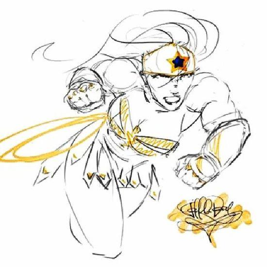 Golden lasso Wonderwoman Fanart Artstagram Tablet Photoshop instaartist dc