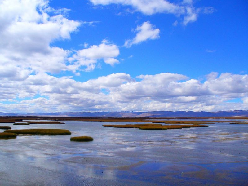Junin lake. Peru. Cloud Clouds And Sky Colorful Nature Colours Of Nature Distant Lake Lake View Lumix Dmc-lz6 Nature Nature Colors Nature Photography Outdoors Relaxing Moments Scenics Sky Sky And Clouds Sky Reflection Tranquil Scene Tranquility Water Water Reflection Water Reflections