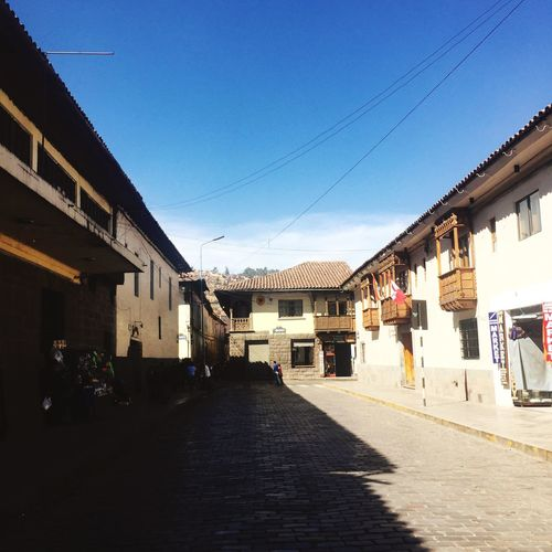 Querikancha Cusco, Peru Daylight Old Town Inca Inca City