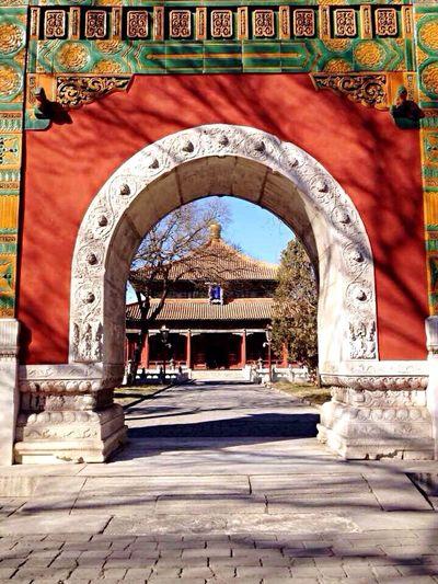 天氣不好,霧霾😷的半日遊~ Imperial College Tourist Attraction  Temple Travel Photography Hello World