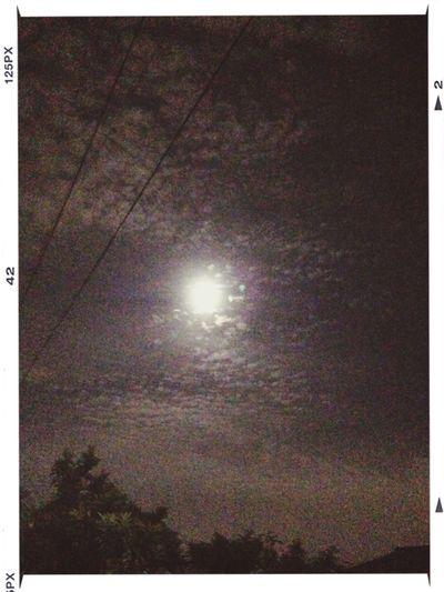 十六夜の月。 Full Moon Cloud And Sky