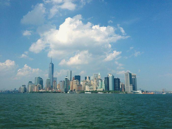 Cloud above the City Cloud New York City Manhattan Manhattan Skyline Clouds And Sky Cloud And City