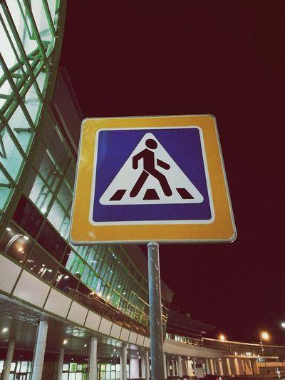 Walkway Signboard Road Sign Road Walk