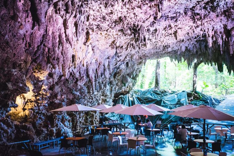 Japan Photography Natural Natural Beauty Okinawa Parasols Sightseeing Adventure Cafe In A Cave Cave Cave Cafe Day Japan Travel Photography Mystical Forest :) Mystical Place Mysticalwanderer Nature Outdoor Inspiration Travel In Japan