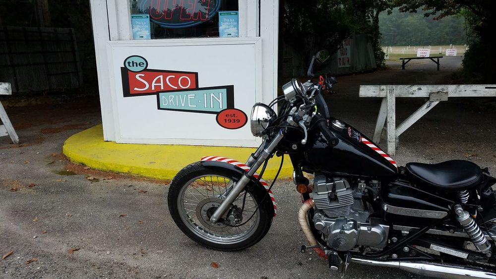 Transportation Motorcycle Bobber Honda Honda Rebel Drive-in Theater Maine