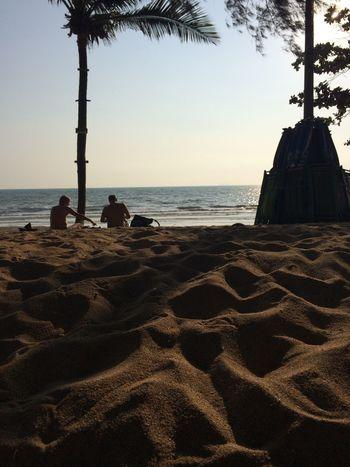 ศิลปะมีอยู่ทุกที่ | ดูดีดี ผืนทรายแห้งนี้ | ยังสวยงามด้วยตีนเรา | #แฮ่ ! ???????? Relaxing ชายหาด หาดทราย พัทยา Sea Swimming Jomtien Beach Chonburi Thailand