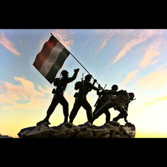 🇮🇳Some goals are so worthy, its glorious even to fail. saluting the real heroes of India. IndianArmy Indiannavy IndianAirForce Bsf Respect Maxrespect Republicday Tribute Ahd Goa India Mycreativity
