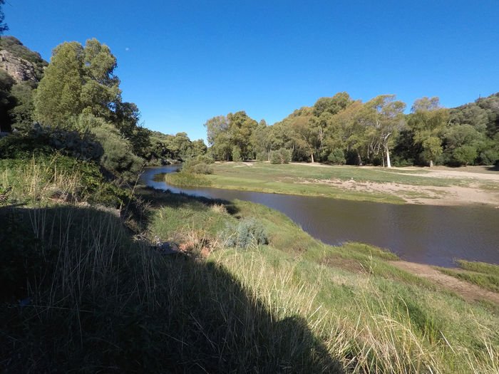 Coghinas river,