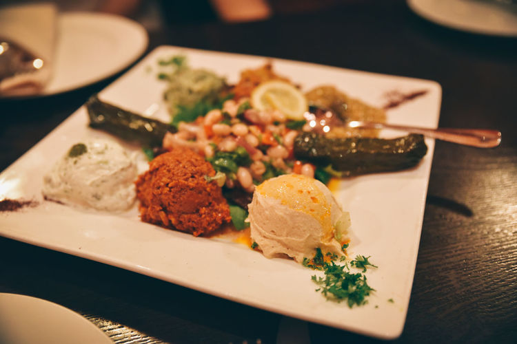 Turkish appetizer - meze Appetizer Dinner Food Food Photography Healthy Food Meals Meze Plate Turkish Food Food And Drink Ready-to-eat Healthy Eating Focus On Foreground Indulgence