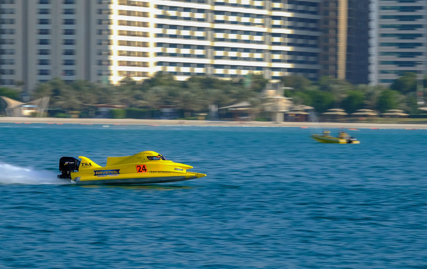 F4F Day F1h20 F1h20 Abudhabi Mode Of Transport Nature Nautical Vessel Outdoors Panning Shots Panningphotography Transportation Water Water Sports Waterfront