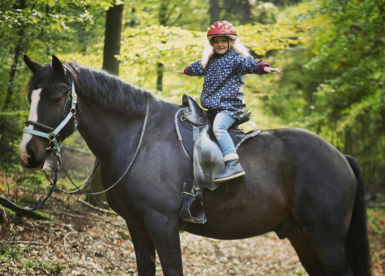 Flying on horses - MAinLoveWithFreedom and Little Girl Having Fun Happy Flying Horse Horses Horse Riding Children Children Photography Nature Cowgirl Cowgirls Portrait Freedom Capturing Freedom - 24.10.2015