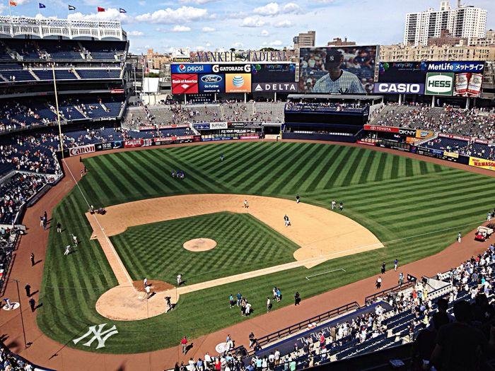 Yankee Stadium Impresionante Wannagobackagain