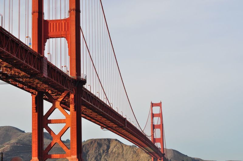 Golden Gate Bridge San Francisco, California NikonD5000 GoldenGateBridge California Sanfrancisco EyeEm Selects Built Structure Sky Architecture Bridge Bridge - Man Made Structure Suspension Bridge Engineering Transportation Travel Travel Destinations