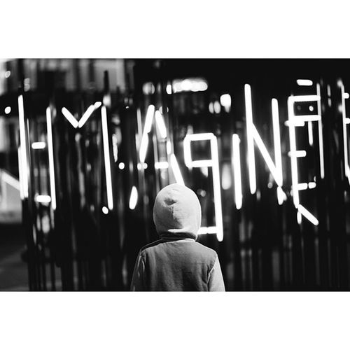 Imagine Vivid Vividsydney Lights Kid Igers Instagramers Instago Picoftheday Photooftheday Axephotography Wintertime Ftod Love Followme Blackandwhite Black White