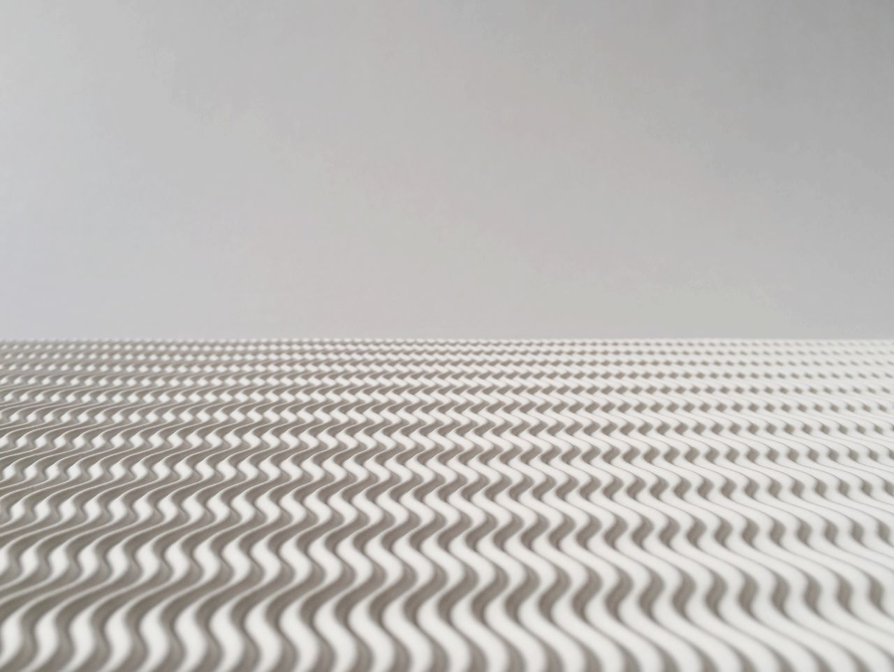 Pattern against gray background