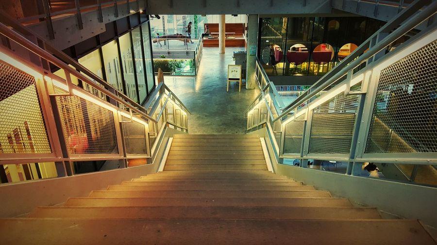 Bangkok Thonglor Stair Lighting Community Mall