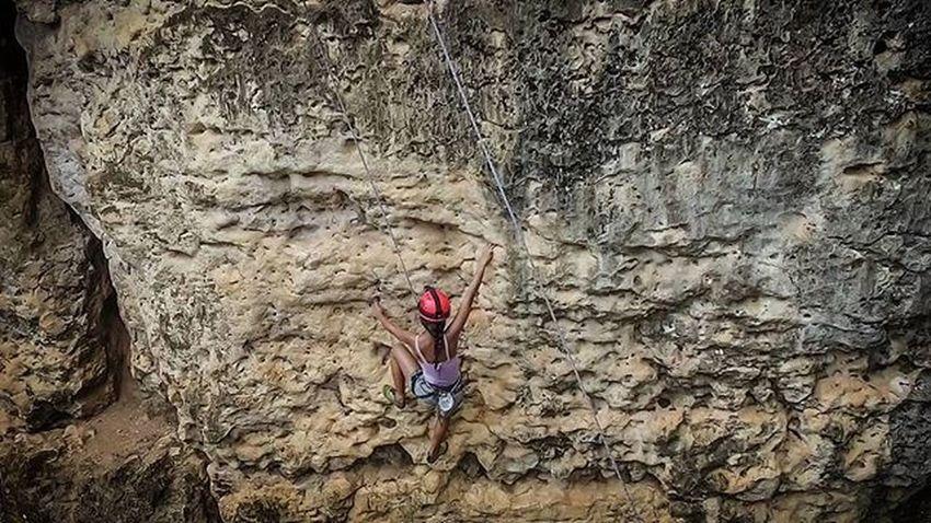 Rock climbing @wisatamalamtrans7 Bantimurung Bantimurungnationalpark Maros  Makassar Instamakassar RockClimbing Wallclimbing Djiphantom3 Dji Djiphantomindonesia In frame @putrizairahwijaya