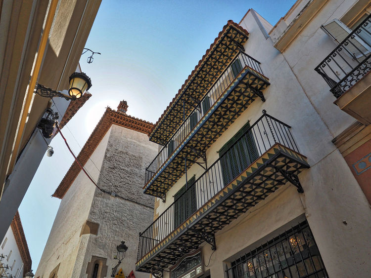Architecture Building Exterior Built Structure Façade Low Angle View Outdoors Residential Structure Sitges Barcelona España