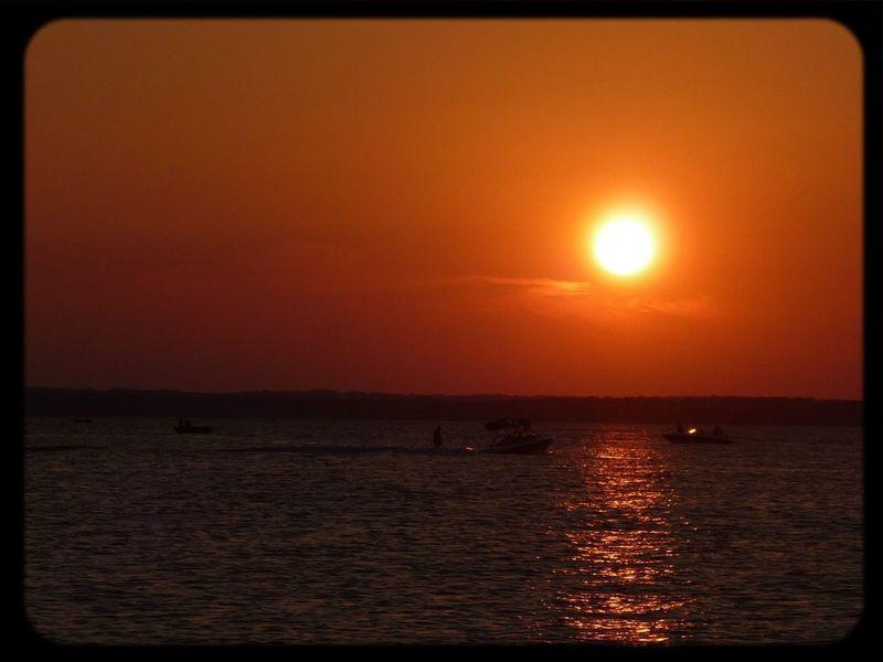 70s Orange Sunset No Edit