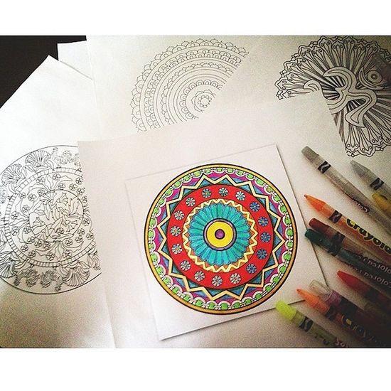 Mandala Making Art, Drawing, Creativity