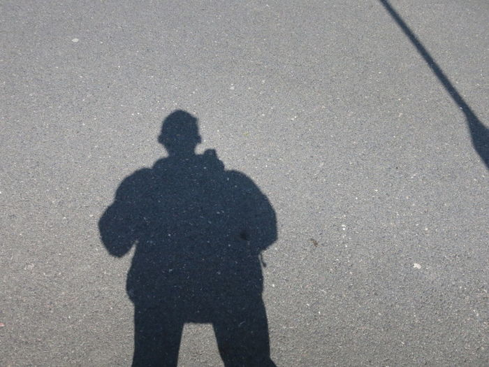 Self Portrait Lakeshore Shadow The Purist (no Edit, No Filter)