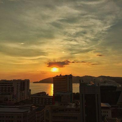 Bukit Bendera Borneotrip Sabah Malaysia Sunset kotakinabalu vscocam vsco