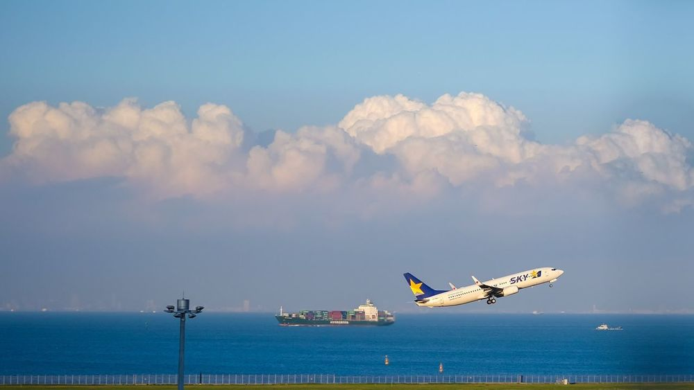 Airport Haneda Airport Take Off Ship Air Plane Landscape Landscape_Collection Landscape_photography Landscapes Sky And Clouds