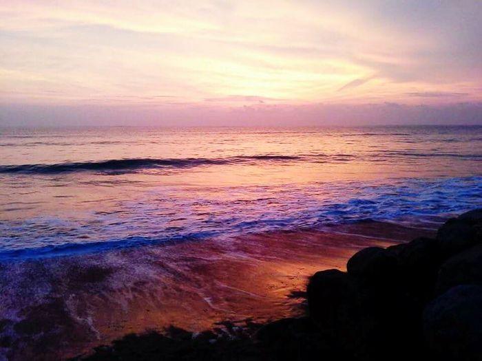 Travel Destinations Travel Beach Sea Beauty In Nature Sunset Sea View Thailandtravel ThailandOnly Kaolak Phang Nga